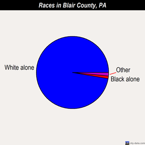 Blair demographics
