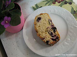 Chai blueberry bread mini