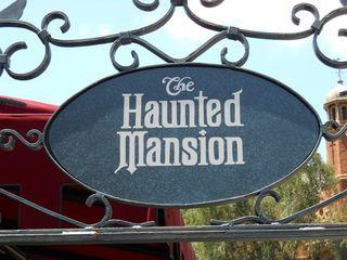 Haunted mansion sign 2