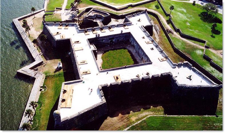 Castillo-de-san-marcos-aerial-view